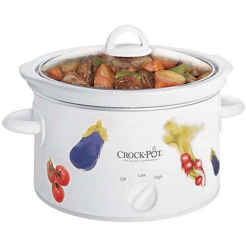 Crock-pot 3040-vg 4-quart Oval Manual Slow Cooker