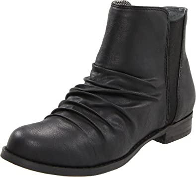 BC Footwear Women's Bibliography Bootie,Black,6.5 M US