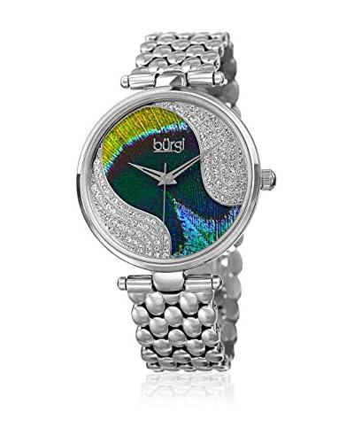 Bürgi Reloj de cuarzo Woman Plateado 38 mm