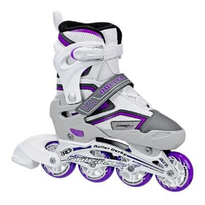 Roller Derby Girl's Stingray R7 Adjustable Inline Skates