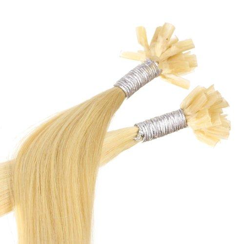 Semplicemente bello capelli e cosmetica Remy ciocche di capelli umani di 70 cm / estensione capelli con la punta U / Keratinbondings - Blond 22 d'oro, primo pacchetto (1 x 25 pezzi)