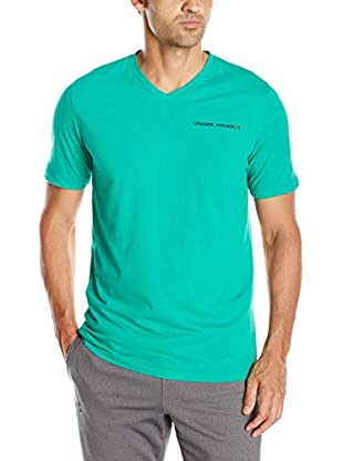 Under Armour Camiseta Manga Corta Charged Cotton V (Verde)