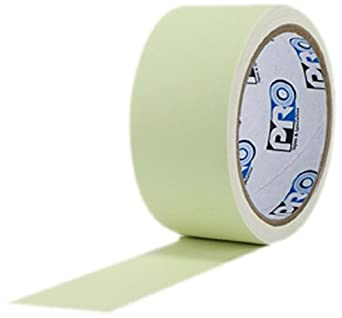"""ProTapes Pro Glow Phosphorescent Vinyl Glow in the Dark Tape, 18 mils Thick, 10 yds Length x 2"""" Width (Pack of 1)"""
