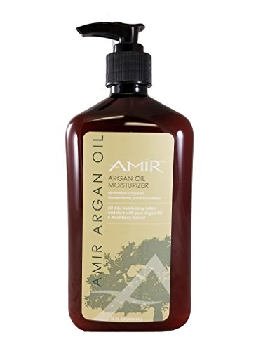 Amir Argan Oil Body Moisturizer Lotion 18 fl.oz - (Mega Size) with Acai Berry extract. (Argan Oil Lotion compare prices)