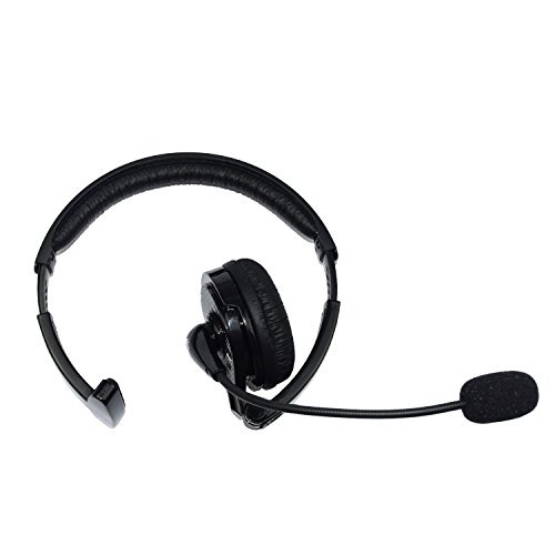 Wireless Truck Driver Bluetooth Headset With Boom