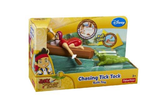 Imagen de Fisher-Price Disney Jake y los Piratas de Never Land Tock Tick Chasing juguete de baño