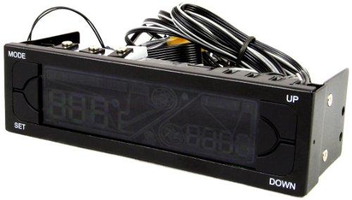 Powercool Ambience Contrôleur LCD vitesse/température pour 4 ventilateurs max.