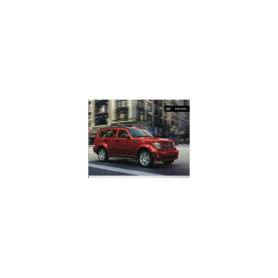 2009 Dodge Nitro Sales Brochure Literature Book Colors Options Specifications