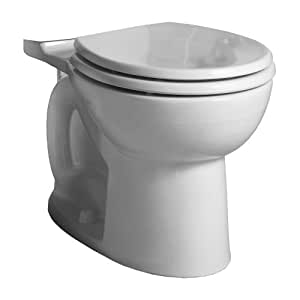 American Standard 3717B001.020 Cadet 3 FloWise Right Height Round Front Toilet Bowl Only in White