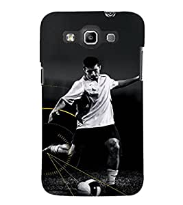 EPICCASE Football Fan Mobile Back Case Cover For Samsung Galaxy Quattro (Designer Case)