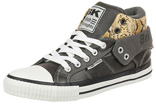 British Knights ROCO BK Damen Sneaker B34-3745-03 dunkelbraun, Schuhgröße:EUR 39