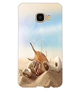 ColourCraft Shell Design Back Case Cover for SAMSUNG GALAXY C5