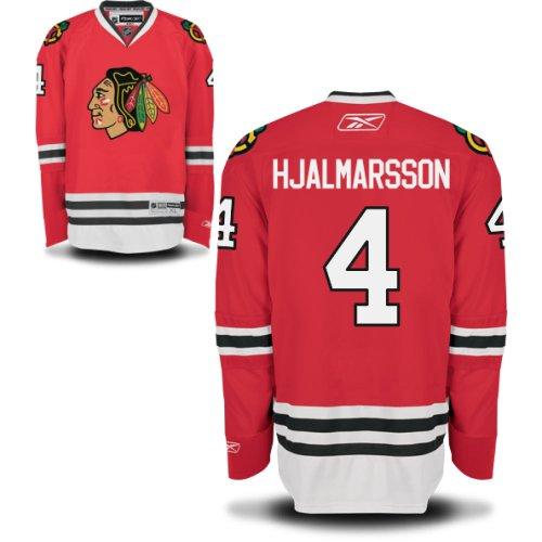 Niklas Hjalmarsson Chicago Blackhawks Red Home Premier