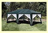 Sun Mart Deluxe Screen House 12'x20' - Green