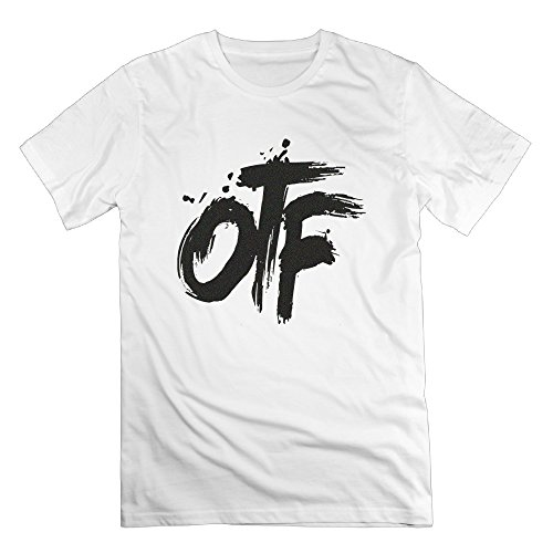 Chocy Men's Lil Rapper Durk OTF Only The Family Vintage Tshirts White Size L (Lil Durk Otf compare prices)