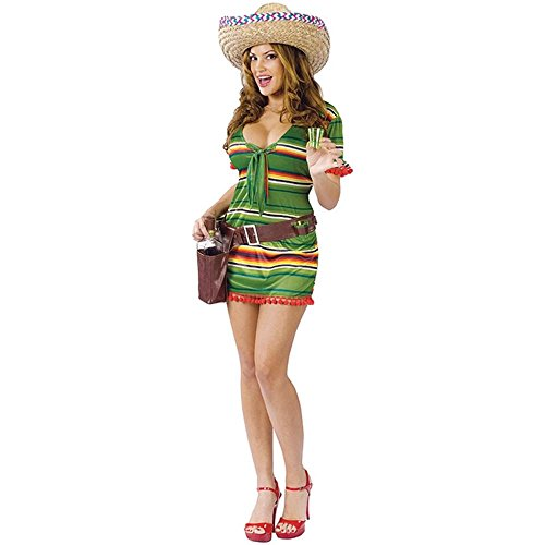 Adult Sexy Shooter Mexican Costume