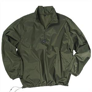 Windproof Jacket Mens Windshirt Fishing Hiking Anorak Walking Travel Olive from Mil-Tec