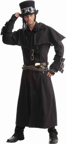Men's Steampunk Duster Coat