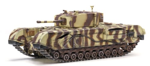 Dragon Models Churchill Mk.III 145th Royal Armoured Corps 21st Brigade Junior Regiment Tank Model Building Kit, 1:72 Scale