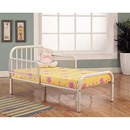 Toddler Bed Finish: White