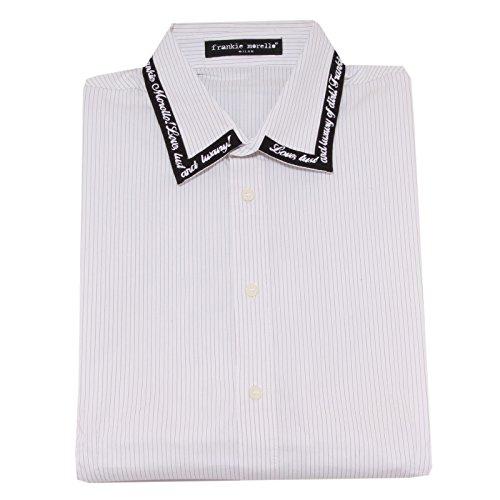 8368O camicia manica lunga FRANKIE MORELLO bianco camicia uomo shirt men [XL]
