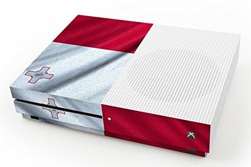 pelle-di-disegno-microsoft-xbox-one-s-bandiera-di-malta-design-skin