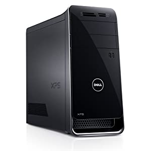 Dell XPS X8700-3752BLK Desktop (3.9 GHz Intel Core i7-4770 Processor, 16GB DDR3, 2TB HDD, NVIDIA GeForce GTX 650, Windows 8) Black