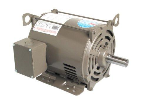 A.O. Smith E219 5 Hp, 1800 Rpm, 230/460 Volts, 184T Frame, Odp Enclosure General Purpose Three Phase Motor