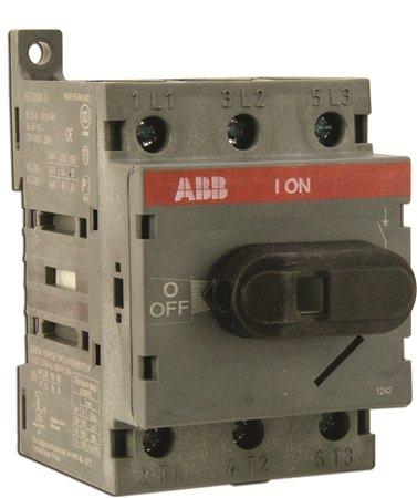 ABB OT63F3 Non-Fused Disconnect, 60 Amp, 3-Pole