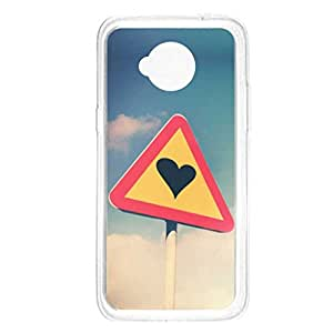 a AND b Designer Printed Mobile Back Cover / Back Case For Motorola Moto E (2nd Gen) (Moto_E2_672)