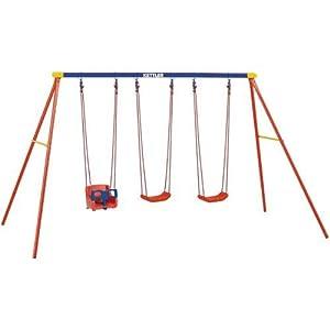 Kettler 8382-790B Multi Play Swing set with Baby Swing Seat