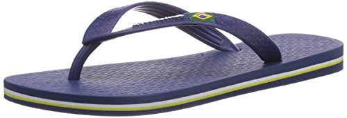 Ipanema Classica Brasil II, Infradito uomo, Blu (Blau (Blue/Dark Blue 22413)), 43/44