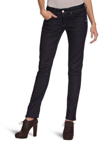 G-STAR Damen Jeans Normaler Bund, REFENDER SKINNY WMN - 60587, Gr. 26/32, Blau (raw - 1)
