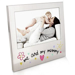 Me and My Mummy Aluminium Photo Frame