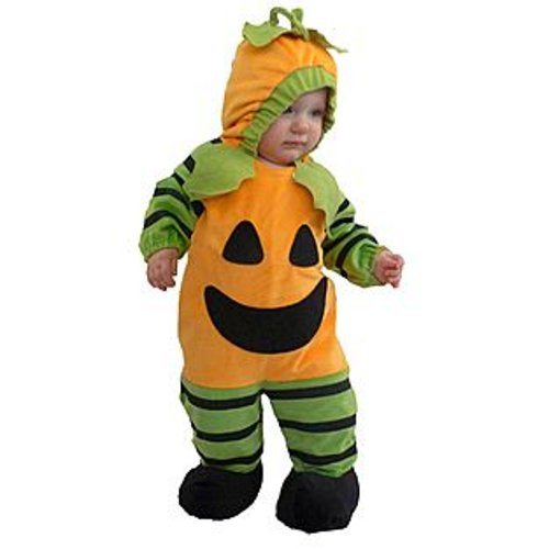 Totally Ghoul Pumpkin Halloween Costume Infant/toddler 0-6 Months Nice