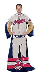 MLB Fleece Comfy Throw MLB Team: Cleveland Indians by Northwest Enterprises