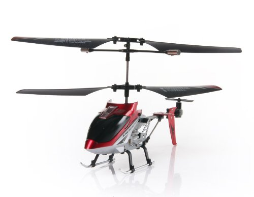 JIN FEI HU TOYS S2011 3.5-Channel RC Mini Helicopter (Red)