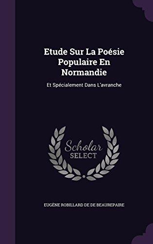 etude-sur-la-poesie-populaire-en-normandie-et-specialement-dans-lavranche