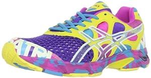 ASICS Women's Gel-Noosa Tri 7 Running Shoe,Electric Purple/White/Sun,10 M US
