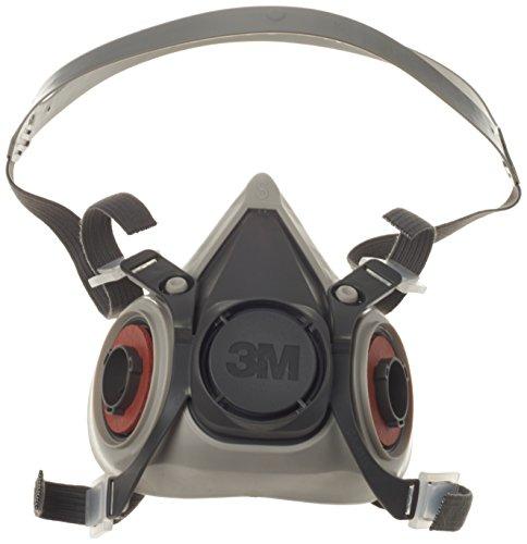 3M - Maschera anti-gas/anti-fumo, serie 6000, riutilizzabile, 6100/Small
