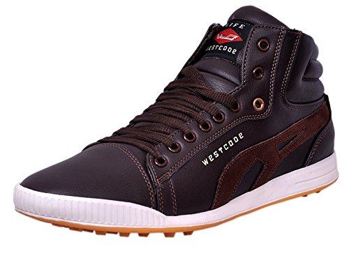 West Code Men's Brown Sneaker(10)