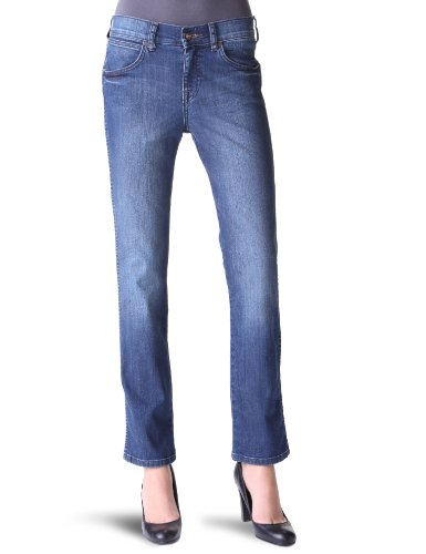 Wrangler - Jeans slim, donna, Blu (Bleu (Used - Worn Rogue)), 40 IT (26W/34L)