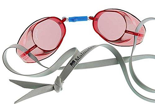 Original Swedish Swim Goggles Red