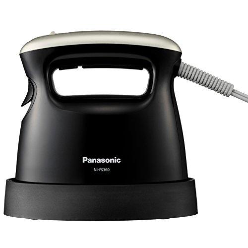 パナソニック 衣類スチーマー ブラック NI-FS360-K