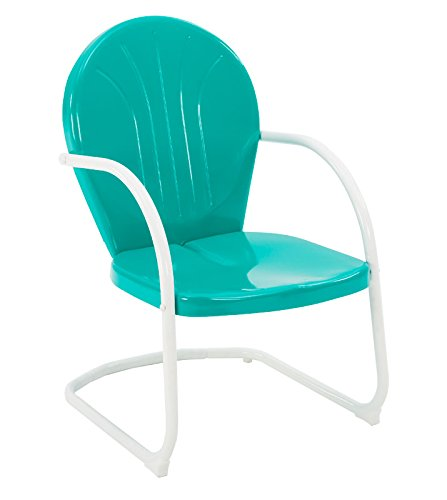 Jack Post BH-20EM Retro Style Chair, Emerald Green