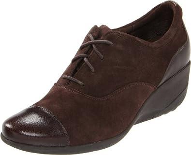 (暴跌)乐步 Rockport Emma Oxford美女棕色小山羊皮超舒适休闲鞋 $55.25 曲线未更