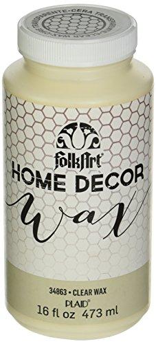 FolkArt Home Decor Wax (16-Ounce), 34863 Clear (Folkart Wax compare prices)