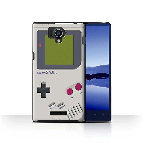 STUFF4 Phone Case / Cover for Sharp Aquos Xx 304SH / Nintendo Game Boy Design / Games Console Collection (Sharp Aquos Nintendo Case compare prices)