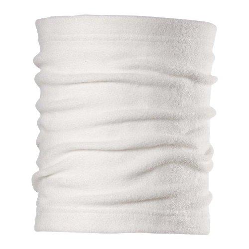 Chaos Drake Fleece Neck Gaiter, White, One Size