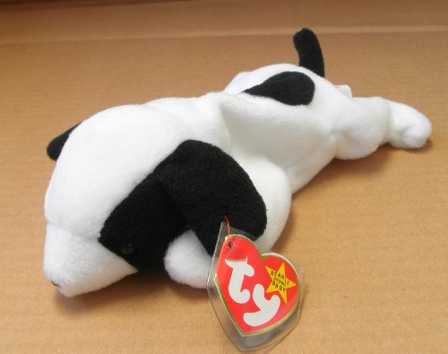 TY Beanie Babies Spot the Dog Stuffed Animal Plush Toy - 8 inches long - 1